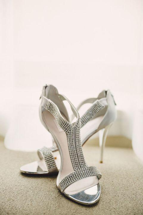 Silver Wedding Shoes 31 Luxury Modern Chic Silver Wedding