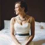 Modern Chic Bridal Style | Oldani Photography | See More! http://heyweddinglady.com/modern-chic-blue-white-and-silver-wedding
