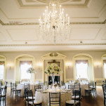 Old World Glamour for a Romantic Crystal, White, and Blush Wedding | Blaine Siesser Photography | See More! https://heyweddinglady.com/classic-glam-wedding-in-crystal-white-and-blush/