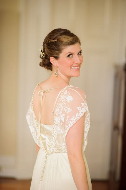 Vintage gold and champagne wedding in new orleans hey for New orleans wedding dresses