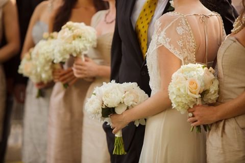 Gold And Champagne Wedding Party Portraits Eye Wander Photography See More Https