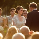 Sun Kissed Southern Wedding Ceremony | Eye Wander Photography | See More! http://heyweddinglady.com/gold-and-champagne-wedding-in-new-orleans/
