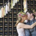 Boho Brewery Wedding Inspiration in Rich Jewel Tones