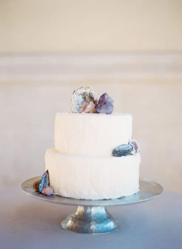 Raw Gem And Geode Wedding Inspiration Hey Wedding Lady