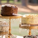 Homemade Stack Cakes | J&J Photography | Classic Southern Ivory and Gold Wedding