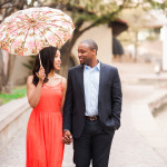 Chic Styled Engagement Shoot with Vintage Details
