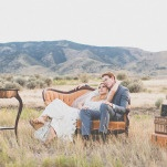 Chic Vintage Lounge | As Ever Photography | Dreamy Desert Sunshine Wedding Inspiration