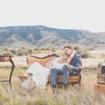 Chic Vintage Lounge | As Ever Photography | Dreamy Desert Sunshine Wedding Inspiration