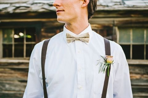 Adorable Neutral Grooms Style | Nhiya Kaye Photography | Minimalist Elegance with Country Chic Details