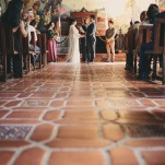 Southern California Mission Style Wedding Ceremony | Yes, Dear. Studio | Old World Spanish Inspired Wedding