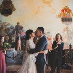 Gorgeous Courthouse Wedding Ceremony | Yes, Dear. Studio | Old World Spanish Inspired Wedding