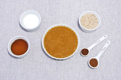 Pumpkin Pie Face Mask Recipe