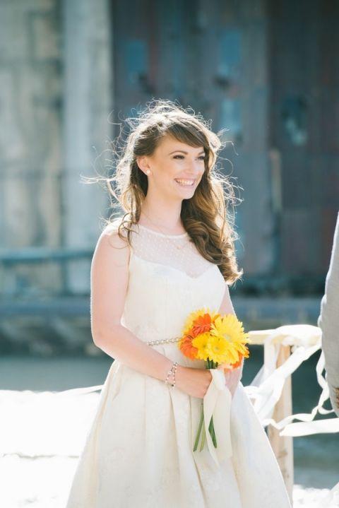 Orange Wedding Gown 74 Luxury Radiant Modern Bride in