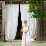 Elegant Barn Ceremony | Amanda Watson Photography | Sophisticated Countryside Wedding in Sparkling Blush