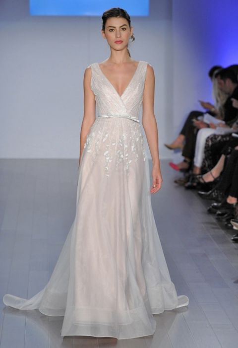 Jim Hjelm Wedding Gowns 56 Spectacular Embroidered Blush Wedding Dress