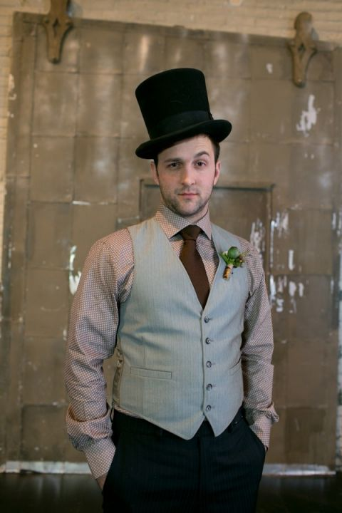 Iron and Velvet Romantic Steampunk Wedding - Hey Wedding Lady