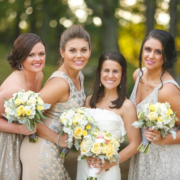 Country Wedding Bridesmaids Dresses 95 Ideal Stylish Blue u Yellow