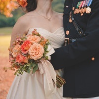 Traditional Autumn Wedding in Eggplant and Orange | Bit of Ivory Photography