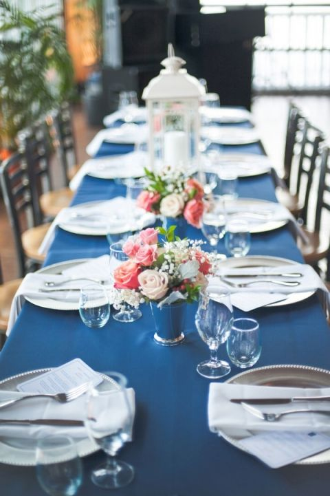 Navy Blue and Coral Nautical Wedding by Shannon Moffit Photography ...