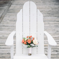 Classic and Elegant Navy Blue and Coral Nautical Wedding   Shannon Moffit Photography