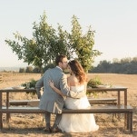 Elegant Ranch Wedding Styling | Carlie Statsky Photography | Earthy and Organic Wedding Shoot in Soft Neutrals and Copper
