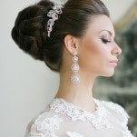 Glamorous Bridal Earrings | Warmphoto | Exquisite Bridal Styling for a Modern Glam Wedding Day