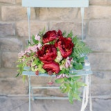 Ivory, Burgundy and Gold Wedding Styling at Castle Cliff Estates | Memorable Jaunts