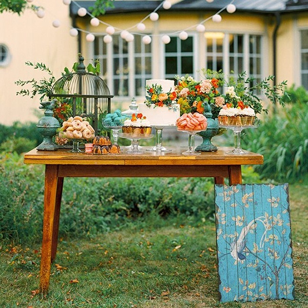 Bold And Colorful Fall Wedding In Burgundy Orange Teal