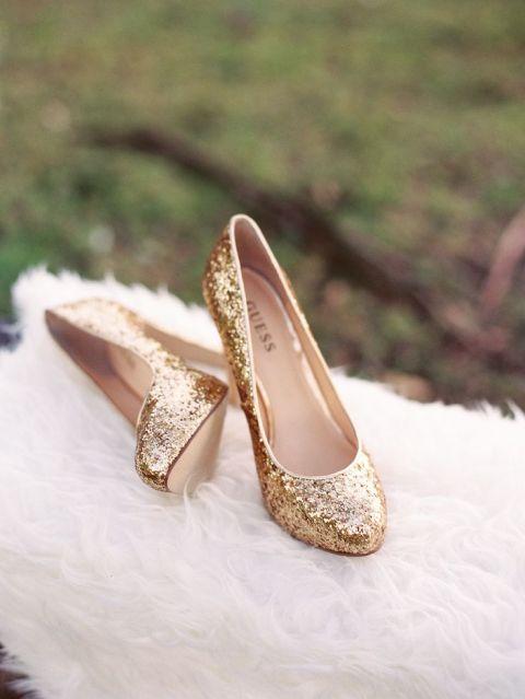 Gold Shoes For Wedding 68 Elegant Gold Glitter Wedding Shoes