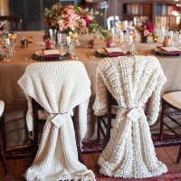 Warm and Cozy Winter Wedding with a Little Holiday Sparkle