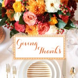 Giving Thanks to my Wonderful Wedding Blogger Community!