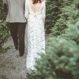 Christmas Tree Farm Wedding | Paper Antler Photography