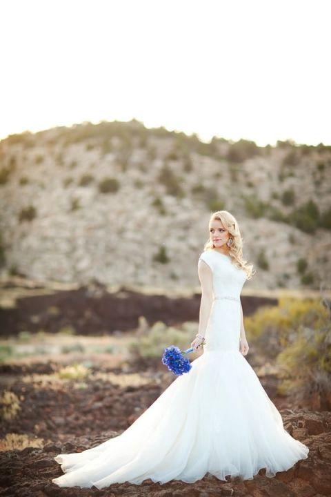 White And Navy Wedding Dress 18 Lovely Desert Wedding Portraits with