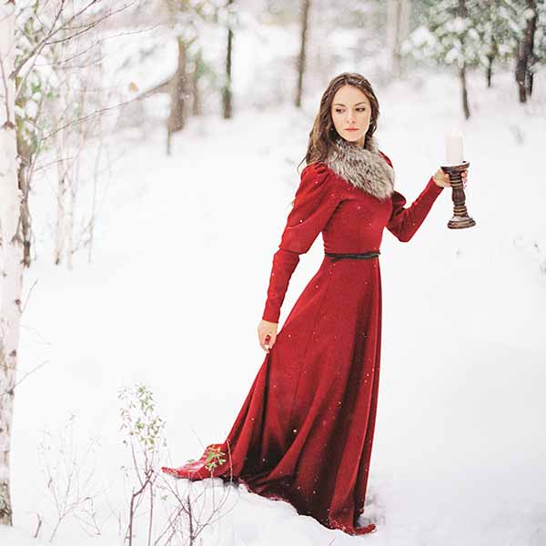 Collection of Red Christmas Wedding Dress - Christmas Tree ...