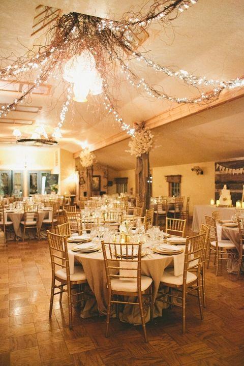 Classic Winter Elegance For A Rustic Vintage Barn Wedding