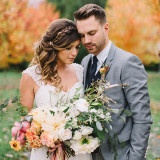 Romantic Vintage Botanical Wedding Shoot at a Rustic Winery | Danaea Li Photography and A Day to Remember Events
