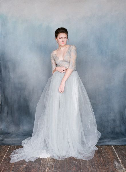 French Lace and Chiffon - Emily Riggs Bridal Fall and Winter 2015 ...