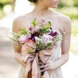 Fig and Neutral Natural Garden Wedding Inspired by First Frost by Sarah Addison Allen | Greer Gattuso Photography