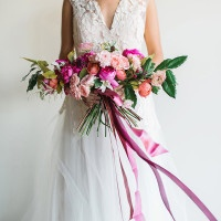Romantic Modern Wedding Style | Rustic White Photography |Winter Blush - Introducing the Petras Gown by Chaviano Couture!