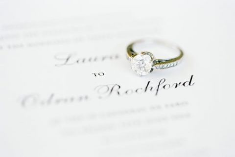 Classic Solitaire Engagement RIng | Brancoprata | Stylish White and Silver Destination Wedding in Portugal