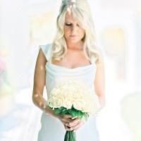 Classic All White Bride   Brancoprata   Stylish White and Silver Destination Wedding in Portugal