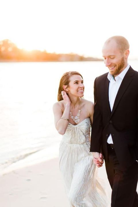 Shimmering Gold Gown | Annamarie Akins Photography | Styling a High Fashion Engagement Shoot
