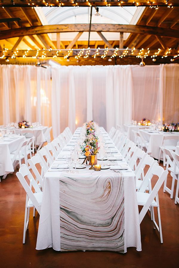 Modern Marbled Wedding Inspiration In Earth Tones Hey