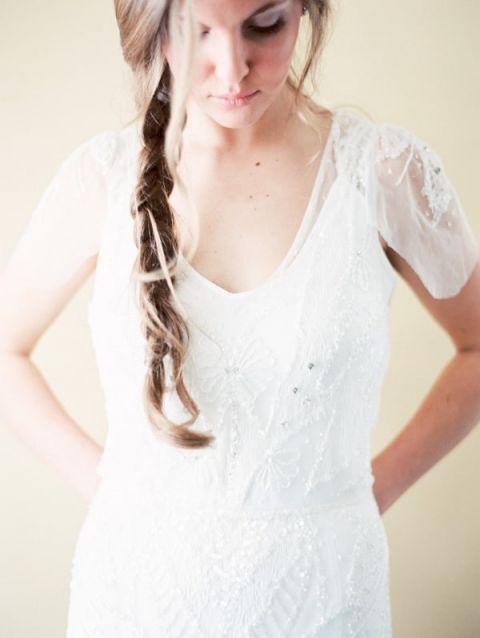 Blissful bridal wedding