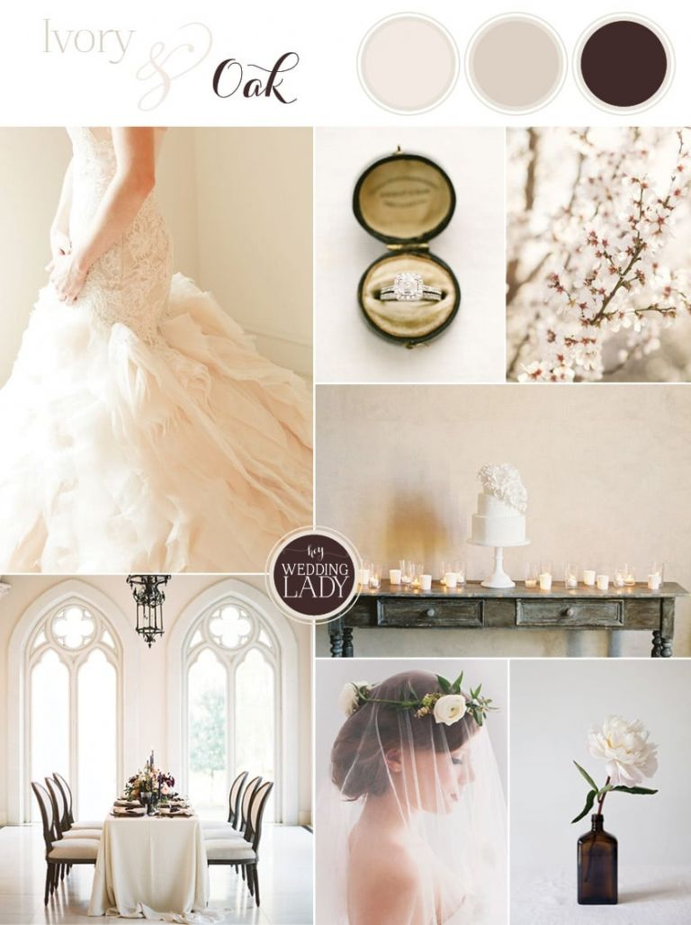 Ivory and Oak - Ethereal Spring Wedding Invitation in Sheer Neutrals - https://heyweddinglady.com/ivory-oak-ethereal-spring-wedding-inspiration/
