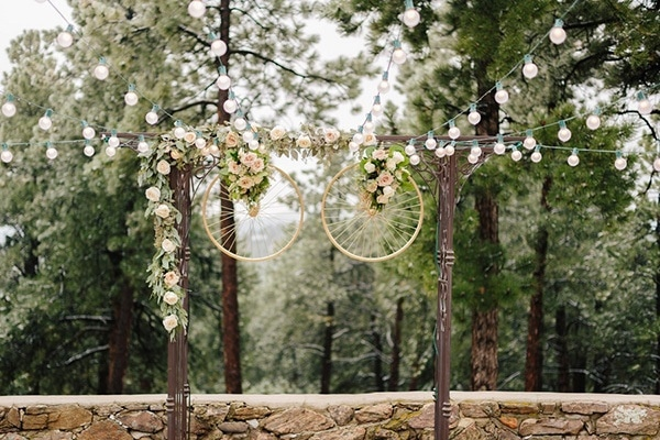 Romantic Outdoor Fall Wedding: A Stylish Wedding For An Outdoor Loving Couple
