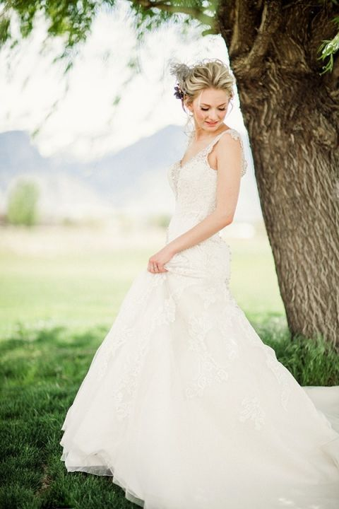 Wedding Dresses With Pearls