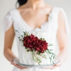 Winter Light - Graceful Burgundy and Blush Wedding Shoot | Rustic White Photography