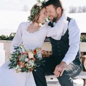 Sweet Heirloom Wedding Portraits