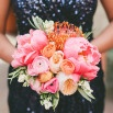 Bold Colors and Modern Sparkle in Palm Springs for a Glam Desert Wedding | onelove photography
